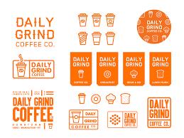 Daily Grind Coffee Co Brand Development By MadeByStudioJQ