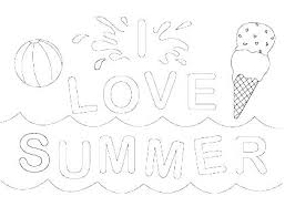 Coloring Pages For Summer Kids Safety Fresh