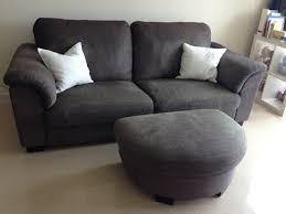 ikea tidafors 3 seater sofa and matching foot stool in tullinge