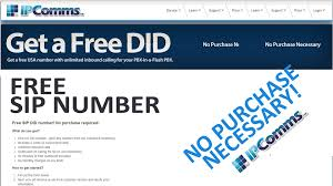 How To Get A Free SIP Phone Number W/ Free Outbound Calls ...