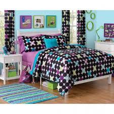 Kids Bedroom Sets Walmart by For M Your Zone Color Block Dot Comforter Set Walmart Kids Bedroom