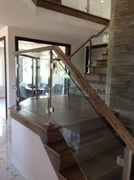 Glass Balusters For Railings | Single_stainless-steel-glass ... Modern Glass Stair Railing Design Interior Waplag Still In Process Frameless Staircase Balustrade Design To Lishaft Stainless Amazing Staircase Without Handrails Also White Tufted 33 Best Stairs Images On Pinterest And Unique Banister Railings Home By Larizza Popular Single Steel Handrail With Smart Best 25 Stair Railing Ideas Stairs 47 Ideas Staircases Wood Railings Rustic Acero Designed Villa In Madrid I N T E R O S P A C
