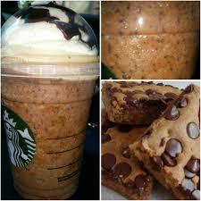 Starbucks Secret Menu Chocolate Chip Brownie Frappuccino