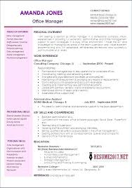 Sample Resume For Administrative Assistant Of Manager Unique Examples Best Key Skills Office Manage General