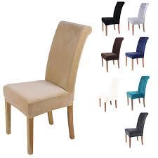 samt esszimmer stuhl abdeckung spandex elastischen stuhl schutzhülle fall für stühle büro hochzeit esszimmer stuhl abdeckung stretch