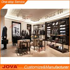 Men Shop Retail Display Stands Cool Furniture For Menswear Good Quality Clothing