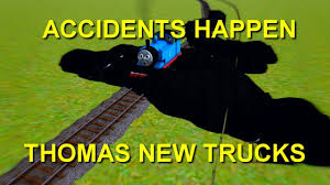 100 Thomas New Trucks THOMAS GOT BUMPED BY COAL TRUCKS Trainz Remake Clip