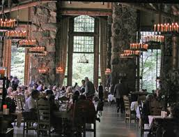 traisping around the ahwahnee hotel