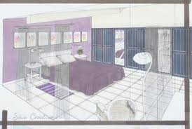 comment dessiner une chambre best of perspective d interieur jrlcomputers us