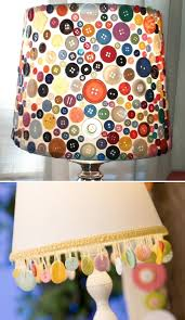 This Is A Simple Lamp Shade That Has Been Decorated With Buttons You Can Decorate In Lots Of Ways For Example Covering Everything