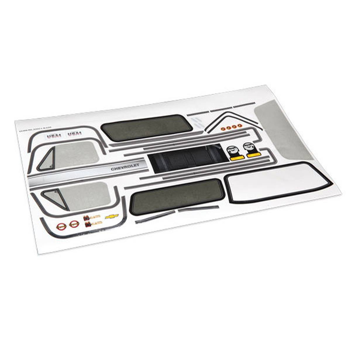 Traxxas TRA8131 Chevrolet Blazer Decal Sheet