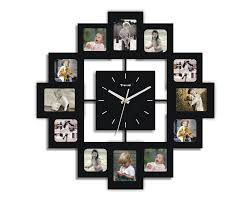 Wayfair Decorative Wall Clocks by Wall Clock With Photo Frames 12 000 Wall Clocks