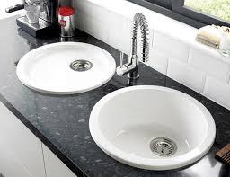 evier de cuisine en cuisine évier design rond ou carré en inox ou porcelaine grès