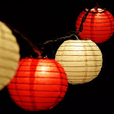 Paper Lantern String Lights Mini Paper Lanterns