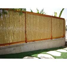 100 Bamboo Walls Natural Fencing Rolls 2 D X 6 H X 8 L Backyard XScapes