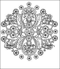 Free Coloring Book Flower For Boys