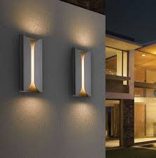 wall lights design contemporary outside led exterior within ideas