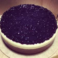 Blueberry Cheesecake At Purple Oven
