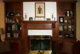 fireplaces with bookshelves on each side shelves by nativefoodways