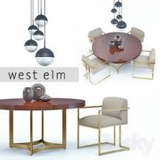 3d models arm chair west elm oliver chair 3d chair