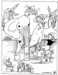 Realistic Wild Animal Coloring Pages Animals To Print Preschool