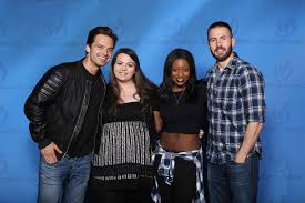 I Was Pumped To Finally Meet Chris Evans And Sebastian Stan The Lines Were Long Nerves Jittery But Everything Gonna Be Perfect Right