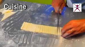 comment découper des pâtes sans laminoir