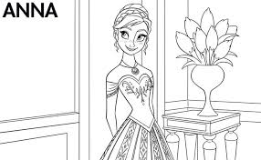 Coloring Pages Disney Printable Frozen With Atrinrayaneh