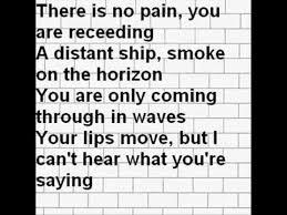 Pink Floyd fortably Numb Studio Version lyrics