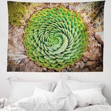wandteppich aus weiches mikrofaser stoff für das wohn und schlafzimmer abakuhaus rechteckig pflanze aloe vera polyphylla kaufen otto