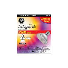 shop ge 50 watt dimmable bright white par 30 shortneck halogen