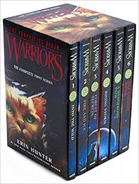 Warriors Box Set Volumes 1 To 6 The Complete First Series Prophecies Begin Erin Hunter 9780062367143 Amazon Books