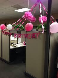 My birthday cubicle …