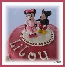 mickey et minnie gâteaux en fête de lilou 25