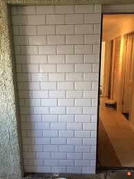 Grey Tiles With Grey Grout by Dark Grout With White Metro Tiles Tilersforums Co Uk