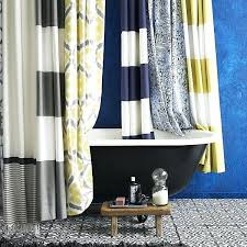 geometric pattern curtains canada navy patterned curtains teawing co
