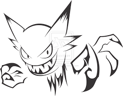 Haunter Drawing Tribal Transparent PNG Clipart Free Download YA