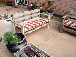 DIY Rustic Outdoor Patio Bench Via Rkblack