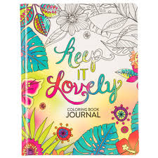 Keep It Lovely Coloring Book Journal