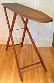 planche a repasser en bois antiquité collection ancienne planche à repasser en bois deco