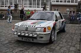 of Peugeot 205 T16 Paris SC