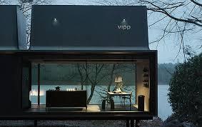 wochenendhaus vipp shelter aus edelstahl und glas