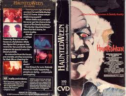 Dr Sam Loomis Halloween Wiki by The Horrors Of Halloween Hauntedween 1991 Vhs And Dvd Covers