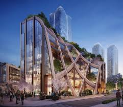 100 The Architecture Company Heatherwick Studio Designs Buildling You Can Walk On In Tokyo