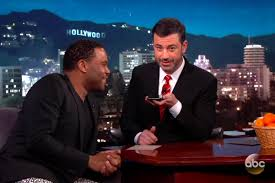 Hey Jimmy Kimmel I Did by Anthony Anderson Calls Trump U0027s Cell Phone On Jimmy Kimmel Ew Com