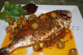 comment cuisiner le poisson brème au four avec des olives et câpres