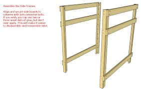 diy bunk bed plans wooden pdf machinery tooling