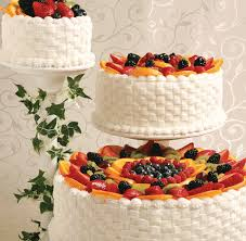 Cakes Decorated With Fruit by Wedding Cakes Catering U0026 Floral Services Price Chopper