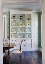 Dining Room China Cabinet Ideas Farmhouse With Builtin Rustic Wood Reclaimed Floors