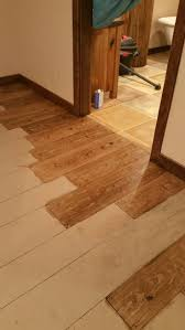 this is a concrete floor painted to look like wood i m using a